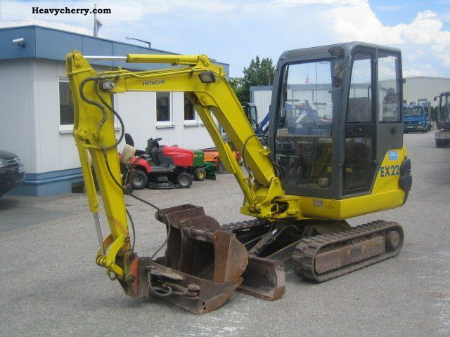 2000 Hitachi  EX 22-2 Construction machine Mini/Kompact-digger photo