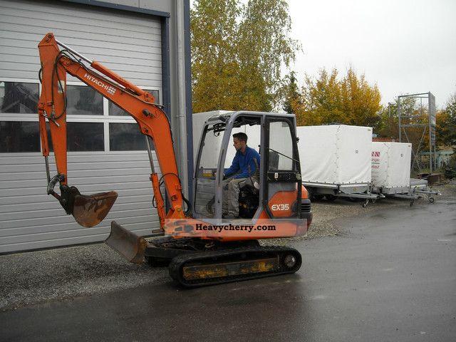 2001 Hitachi  EX 35-2 Construction machine Mini/Kompact-digger photo