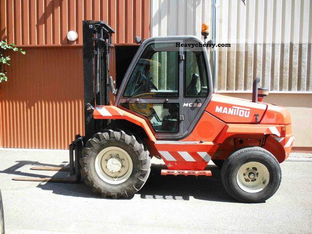 2012 Manitou  MC 30 Forklift truck Rough-terrain forklift truck photo