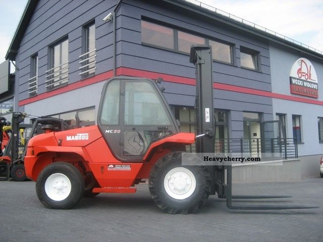 2000 Manitou  MC50 freelift Forklift truck Rough-terrain forklift truck photo