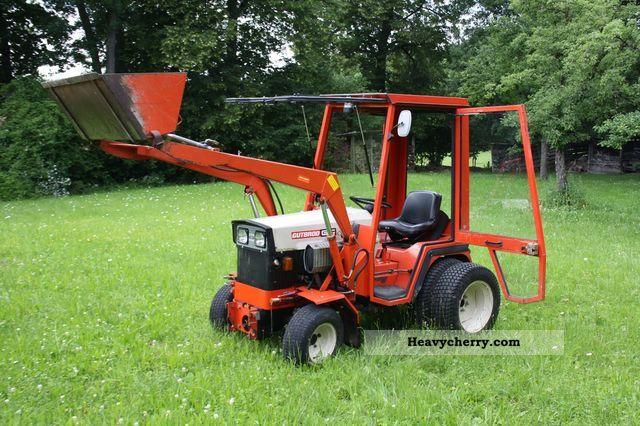 1982 Gutbrod  2600 DA Agricultural vehicle Farmyard tractor photo