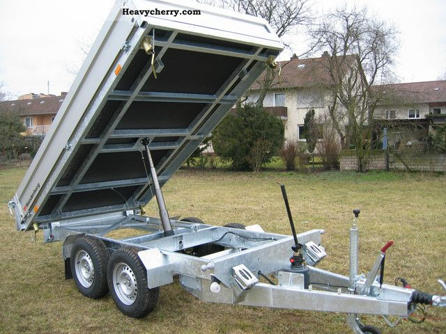 2012 Agados  Atlas 3500 kg 330 x 175 Trailer Three-sided tipper photo