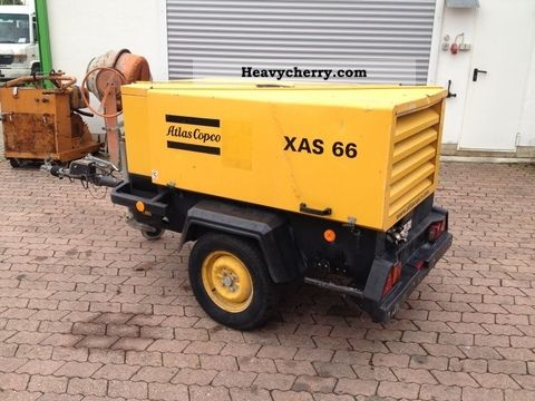2003 Atlas Copco  Dd XAS 66 compressor Construction machine Other construction vehicles photo