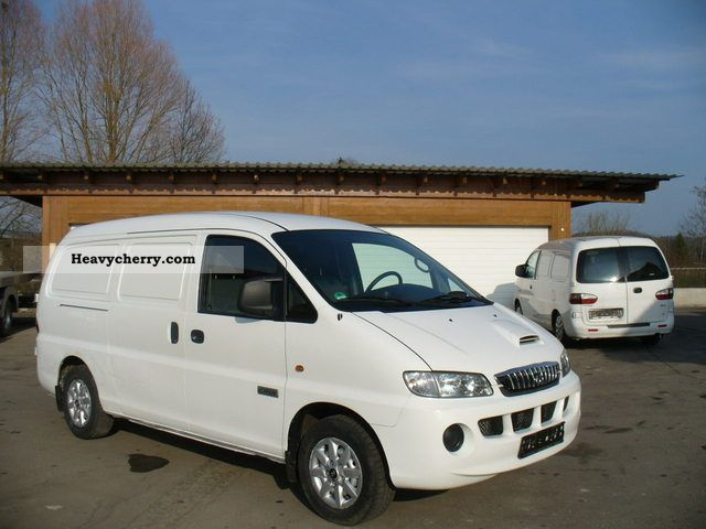 2007 Hyundai  H 1 CRDI SV EURO 4 long box Van or truck up to 7.5t Box-type delivery van - long photo