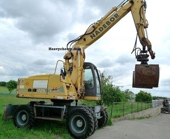 1995 Furukawa  W725 LS Tronic Construction machine Mobile digger photo