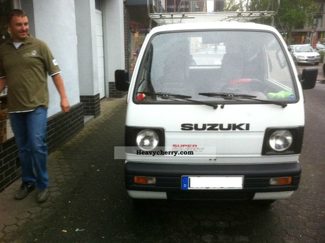 1989 Suzuki  Super Carry Van or truck up to 7.5t Box-type delivery van photo