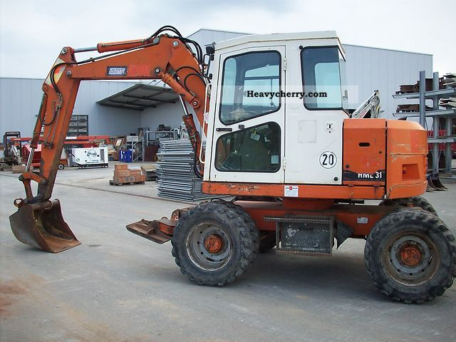 1996 Schaeff  HML 31 Construction machine Mobile digger photo