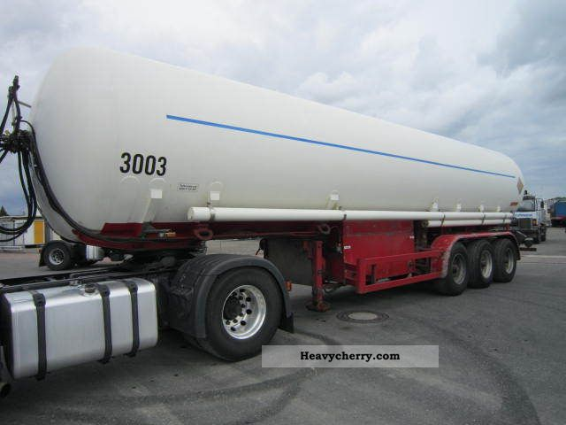 1980 Hendricks  42 000 liters gas tank Sanh Semi-trailer Tank body photo