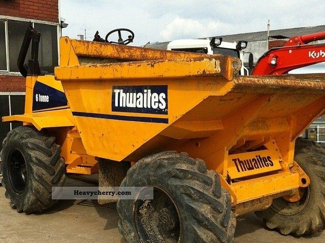 2003 Thwaites  6 tons Construction machine Other construction vehicles photo