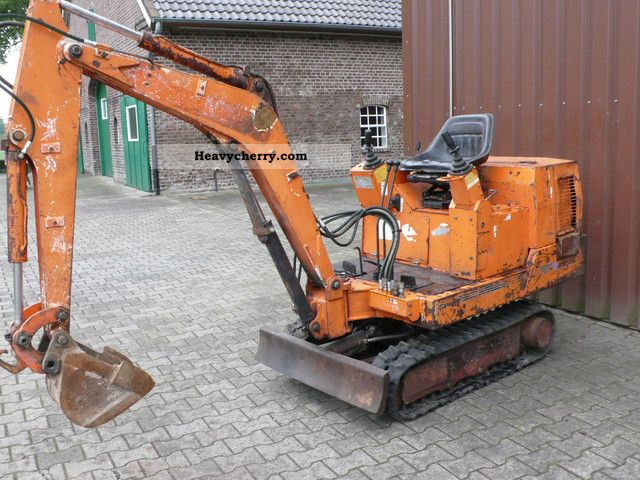 1990 Hitachi  EX 15 Construction machine Mini/Kompact-digger photo