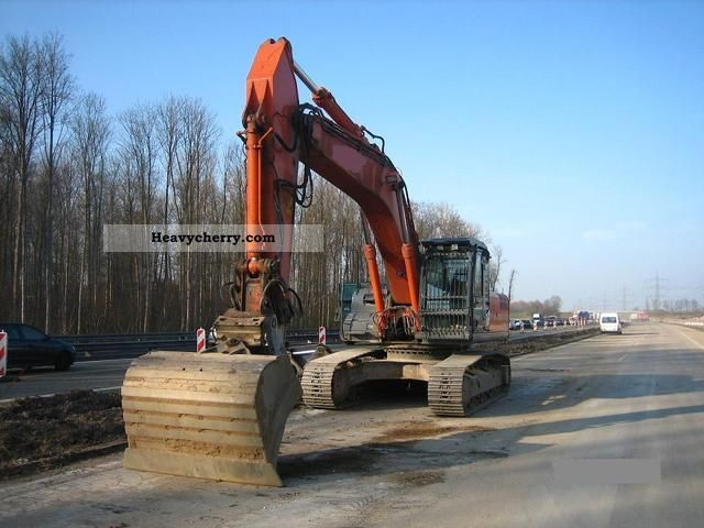 2007 Hitachi  Zaxis 350 LCN Construction machine Caterpillar digger photo
