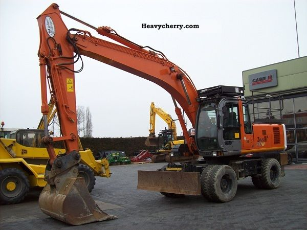 2006 Hitachi  210W Construction machine Construction Equipment photo