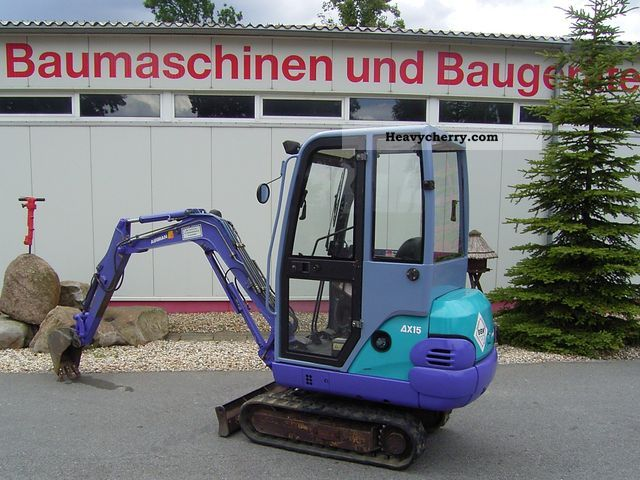 1998 Hitachi  AX 15-2 Construction machine Mini/Kompact-digger photo
