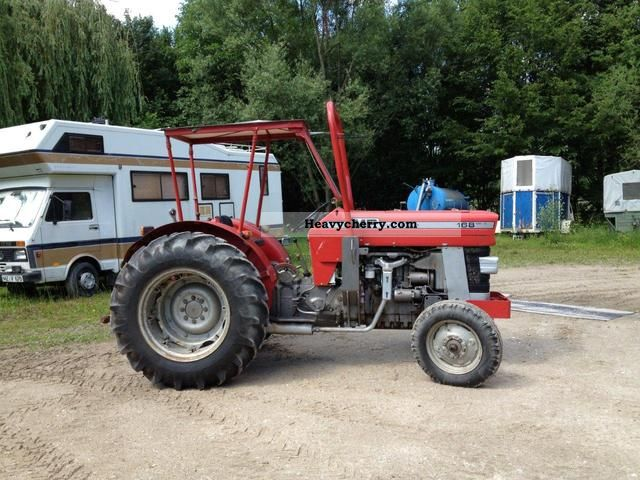 1977 Agco / Massey Ferguson  MF 168 P Agricultural vehicle Tractor photo