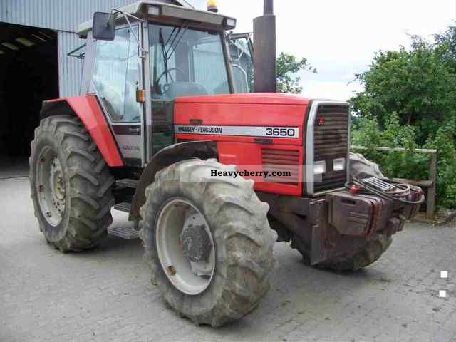 1988 Agco / Massey Ferguson  3650 twin wheel wheels Agricultural vehicle Tractor photo