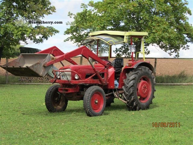 1980 Eicher  Mammoth 3353 74MF Agricultural vehicle Tractor photo