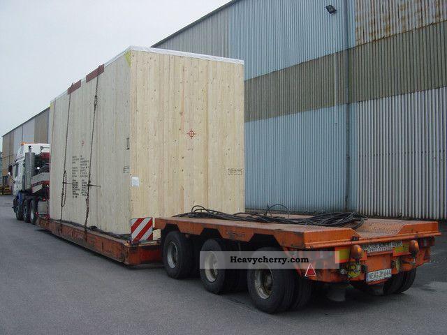1995 Scheuerle  SFTB 3524 ABP Semi-trailer Low loader photo