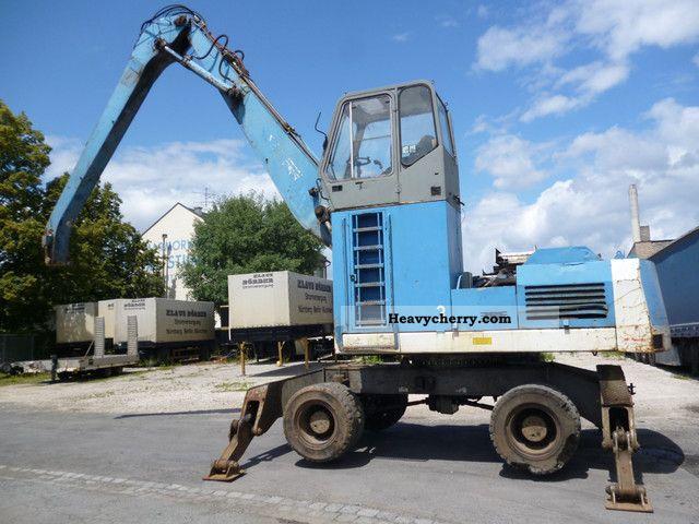 1993 O & K  O \u0026 K MH6 PMS Construction machine Mobile digger photo