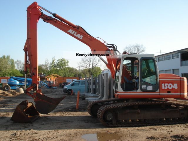 2000 Atlas  AB 1504 LC Construction machine Caterpillar digger photo