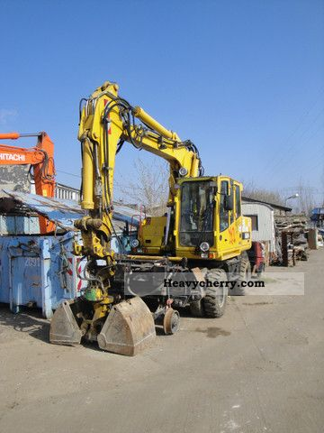 2007 Atlas  1604 ZW Construction machine Mobile digger photo