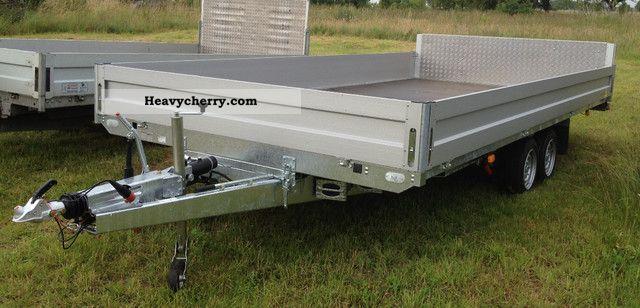 2012 Agados  ADAM multi-trailer flatbed tilt Trailer Platform photo