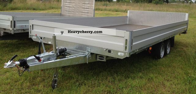 2012 Agados  ADAM multi-trailer flatbed tilt Trailer Trailer photo