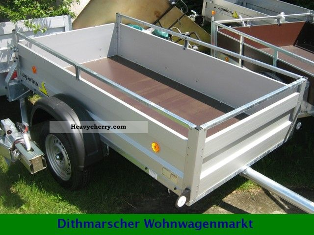 2012 Agados  VZ 21.75 thousand kilograms aluminum trailer Trailer Trailer photo