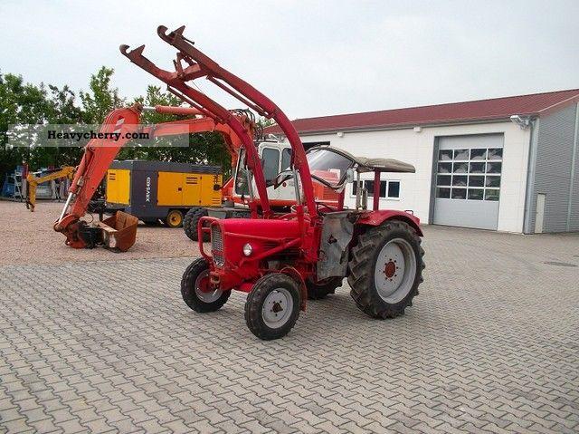 1966 Guldner  Guldner G40 + loader + overdrive + approval before 02/2014 Agricultural vehicle Tractor photo