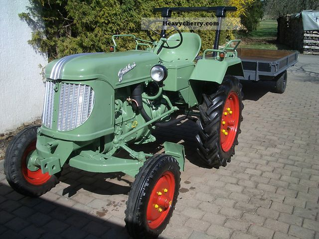 1950 Guldner  Güldner AF 15 Agricultural vehicle Tractor photo