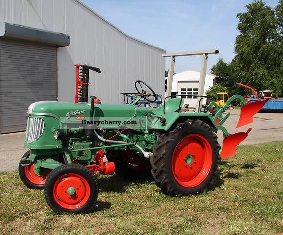 1957 Guldner  Güldner ADN 8 H 16 hp Agricultural vehicle Tractor photo