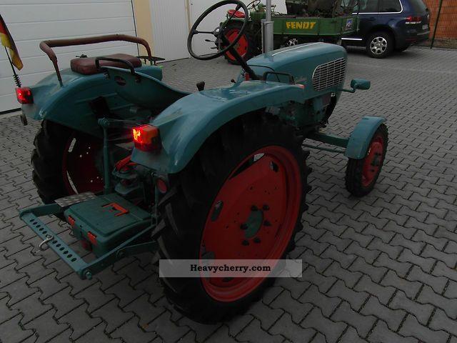 1958 Guldner  Güldner AK7 Agricultural vehicle Tractor photo