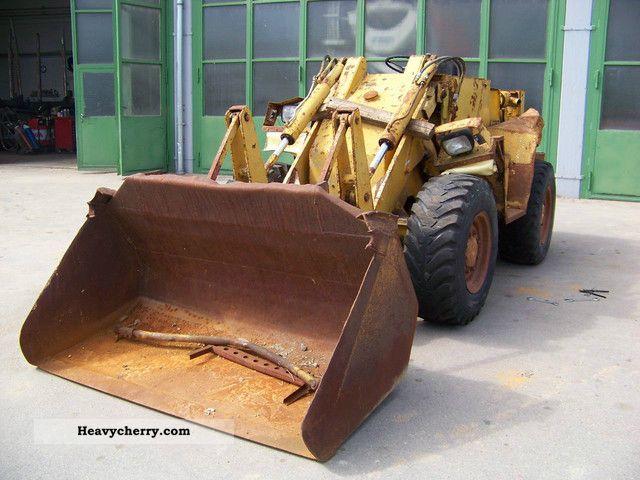1972 Kramer  411 Construction machine Wheeled loader photo