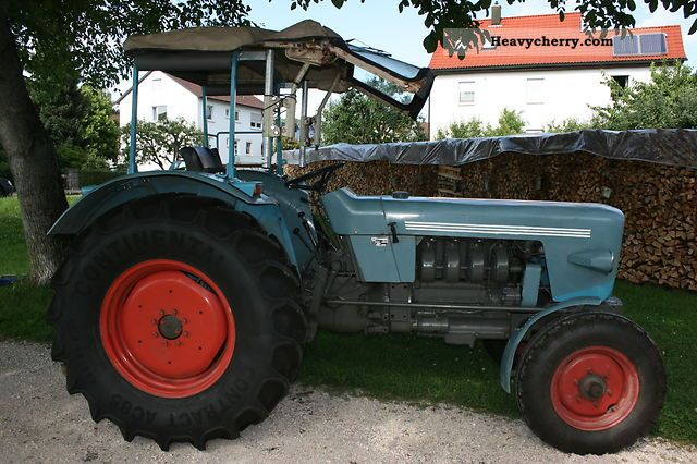 1974 Eicher  3551 S HSTL (Mammoth) Agricultural vehicle Tractor photo