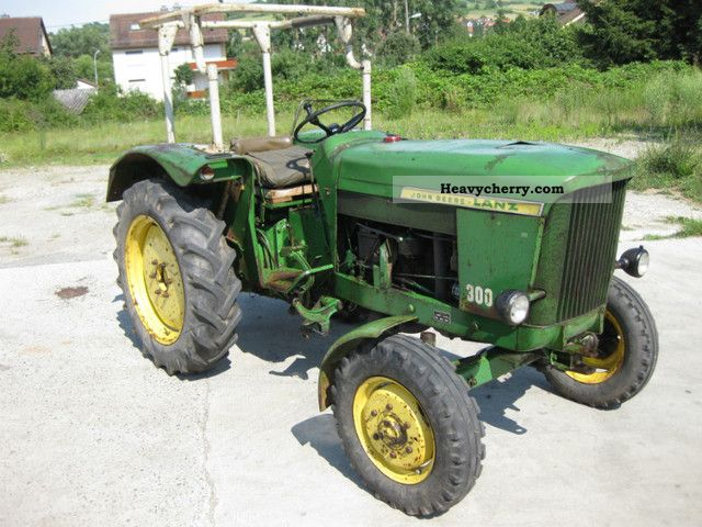 john deere 300 1963 agricultural tractor photo and specs. Black Bedroom Furniture Sets. Home Design Ideas