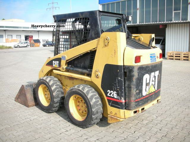 Cat 226 Specs >> Cat 226 2004 Wheeled Loader Construction Equipment Photo And