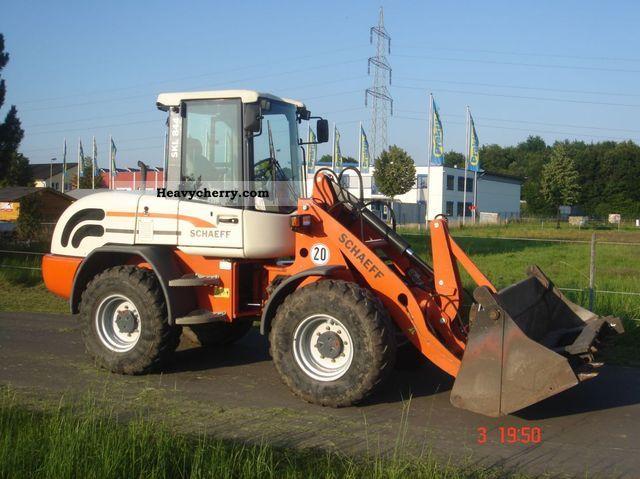 2005 Schaeff  SKL 844 Construction machine Wheeled loader photo