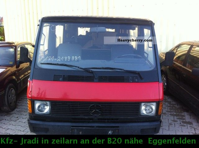 mercedes benz mb 100 mb d box 1991 box type delivery van photo and specs. Black Bedroom Furniture Sets. Home Design Ideas