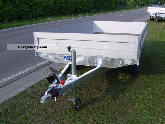 2012 Agados  VZ 33 2000 kg z.GG. 2x1300kg axes Trailer Trailer photo
