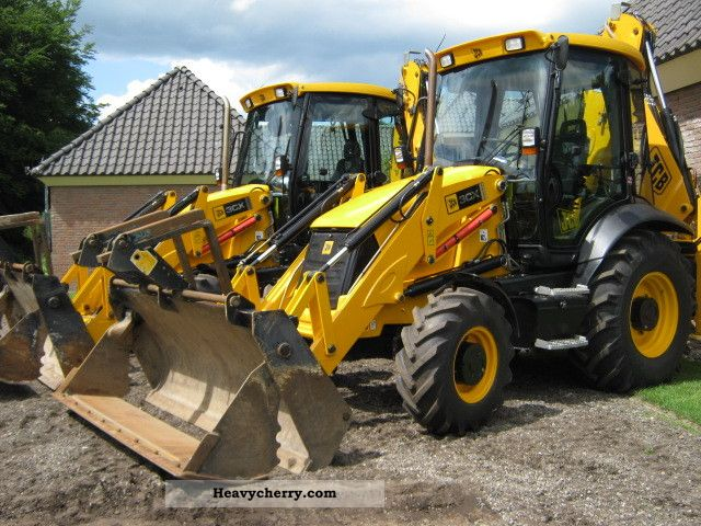 2010 JCB  3CX Construction machine Combined Dredger Loader photo