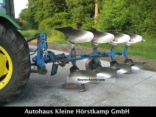 2012 Lemken  Opal 110 4-furrow plow Agricultural vehicle Harrowing equipment photo