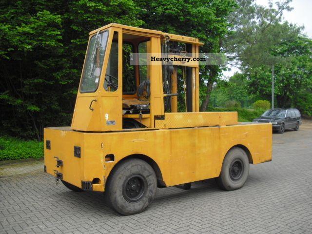 1981 Irion  40/14/40 S DFQ Forklift truck Side-loading forklift truck photo