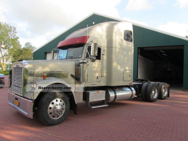Freightliner Tractor Weight : Freightliner fld classic standard tractor trailer