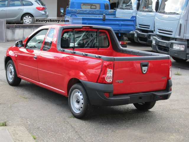 dacia logan pickup 1 5 dci 1 hand only 17000 km 2010. Black Bedroom Furniture Sets. Home Design Ideas