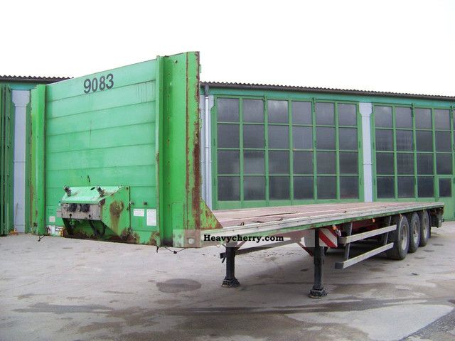 1998 Meusburger  MPS-3 - Platform Semi-trailer Platform photo