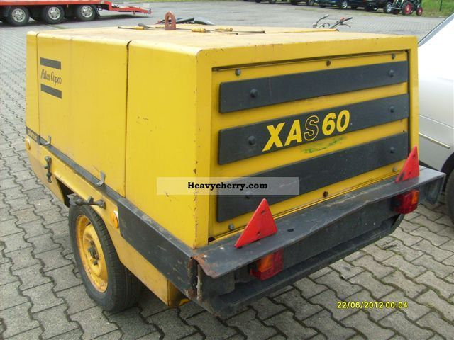 Atlas Copco Xas 60 Compressor 9 3 Bar 2012 Other