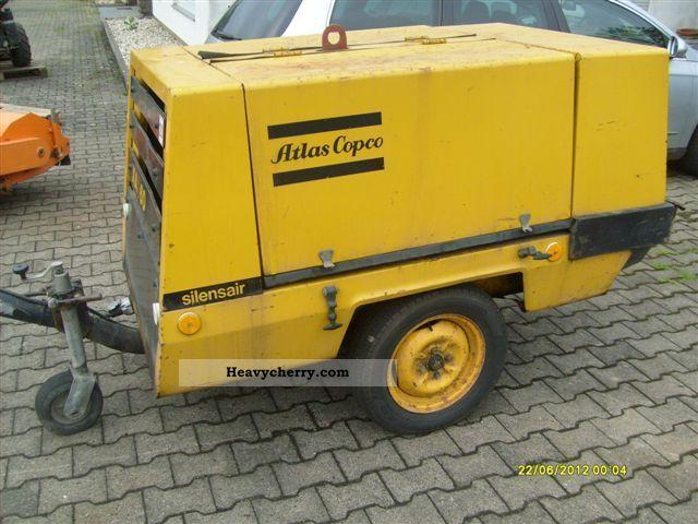 2012 Atlas Copco XAS 60 compressor 9.3 bar Construction machine Other