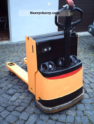 2001 Still  EGU 20/310 Forklift truck Low-lift truck photo