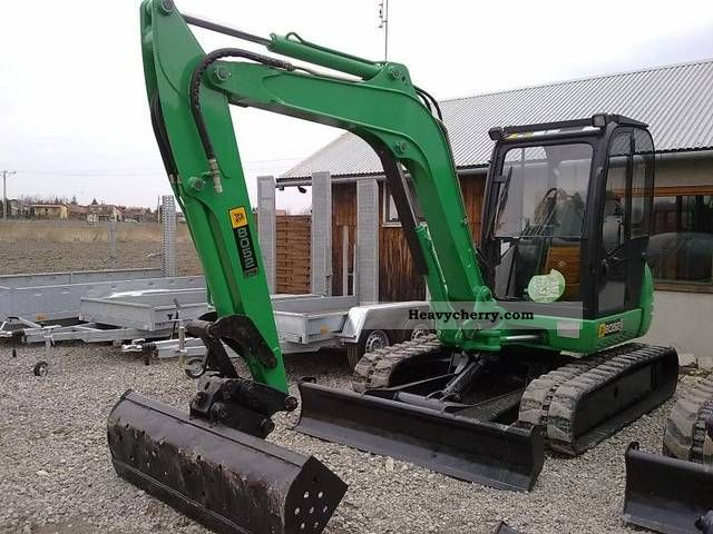 2006 JCB  8052 ZTS Construction machine Mini/Kompact-digger photo