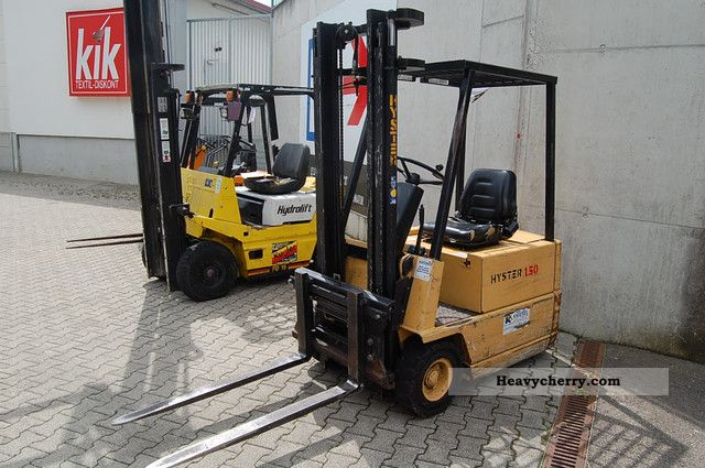 2012 Hyster  1.50 Forklift truck Front-mounted forklift truck photo
