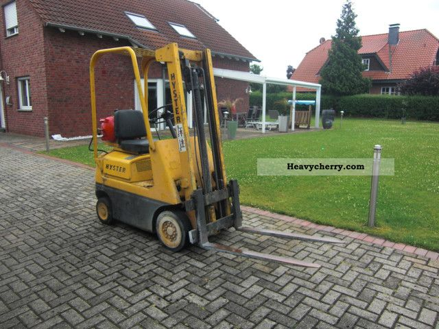 Hyster S20A Gas Forklift 1985 Front-mounted forklift truck Photo and